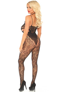 Sort blonde catsuit - Private Dancer