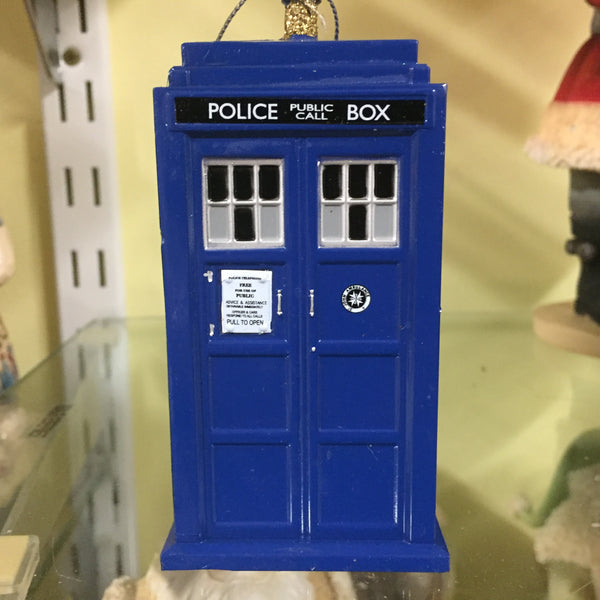 "Dr Who - 4.5"" Blow Mould Orn"