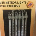 8 meteor light 50cm MULTI COLOUR ZDE12107M