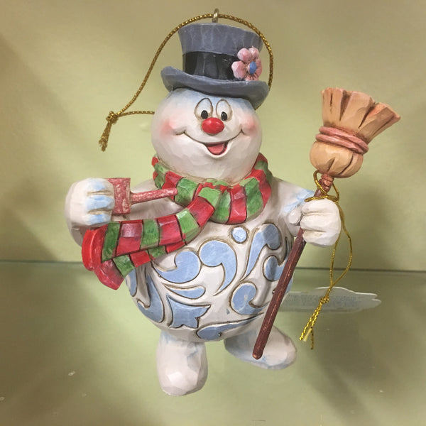 Frosty the Snowman with Broom