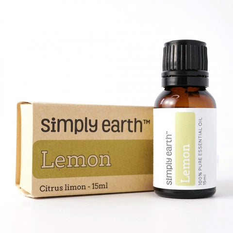 🍋 Simply Earth- Lemon Essential Oil 15ml 🍋