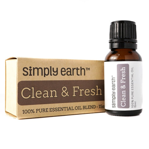 🛁 Simply Earth- 'Clean and Fresh' Essential Oil Blend 15ml 🛁