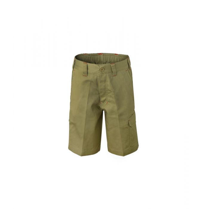 Kids Mid-Weight Cargo Cotton Cargo Shorts
