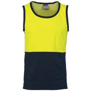 Cotton Back Two Tone Singlet