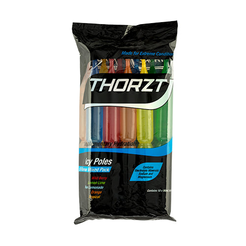 THORZT Icy Pole Mixed Flavour Pack - 10 x 90mL