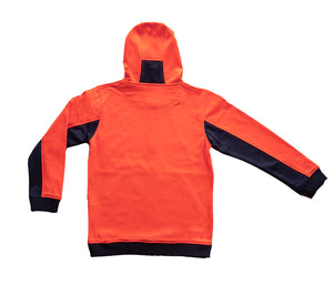 Kids Two Tone hoodies- Brushed Back Fleece