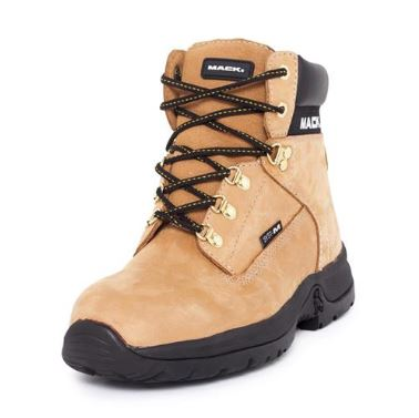 Bulldog Lace-up Safety Boots