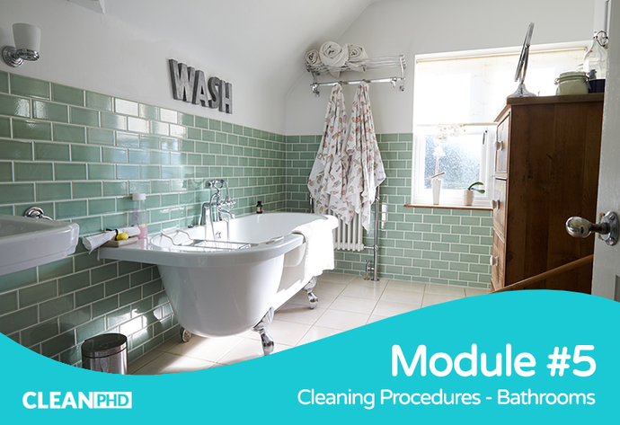 Cleaning Procedures - Bathrooms