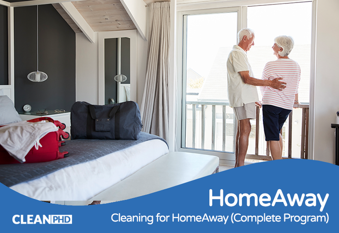 Cleaning for HomeAway (Complete Program)