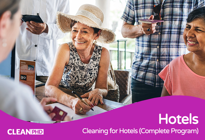 Cleaning for Hotels (Complete Program)