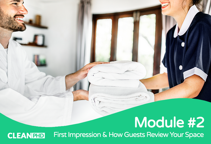 First Impression & How Guests Review Your Space