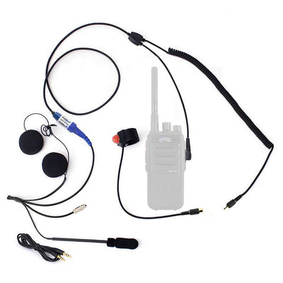 Motorcycle Kit For Rugged Handheld Radios