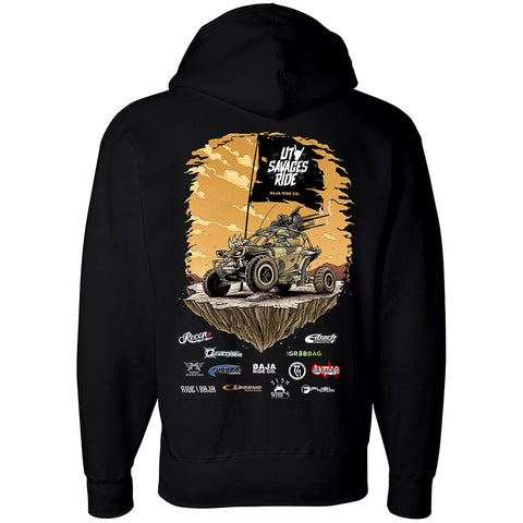 SAVAGES RIDE HOODIE - Black