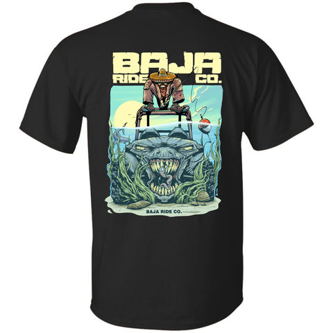 Baja Ride Co. Fishing UTV T-Shirt - Black