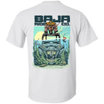 Baja Ride Co. Fishing UTV T-Shirt - White