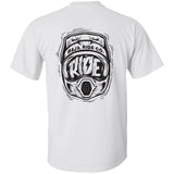Ride Helmet T-Shirt - White