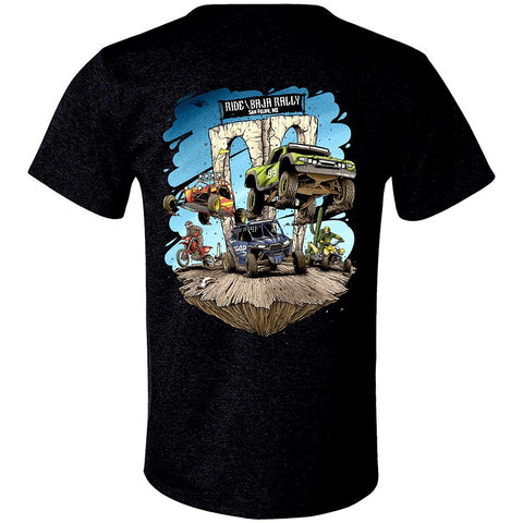 Ride Baja San Felipe T-Shirt - Black