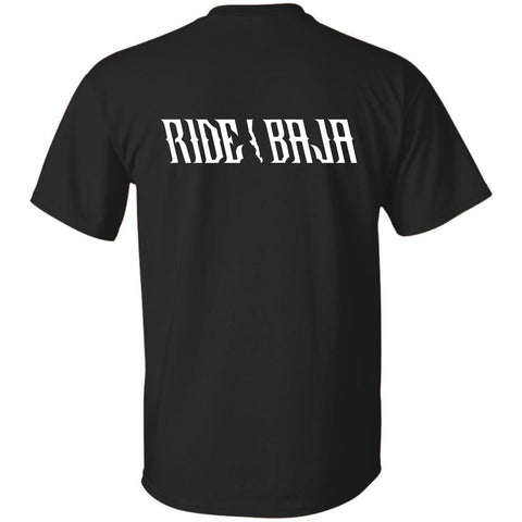 Ride Baja Every Day T-Shirt - Black