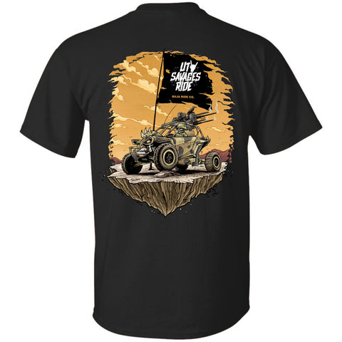 Baja Ride Co. Savages Ride T-Shirt - Black