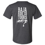Baja Ride Co. Throttle T-Shirt - Gray