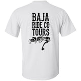 Baja Ride Co. Throttle T-Shirt, White