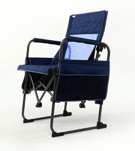 Zenree Folding Director's chair Transformer for Outdoor Camping ,Navy Blue