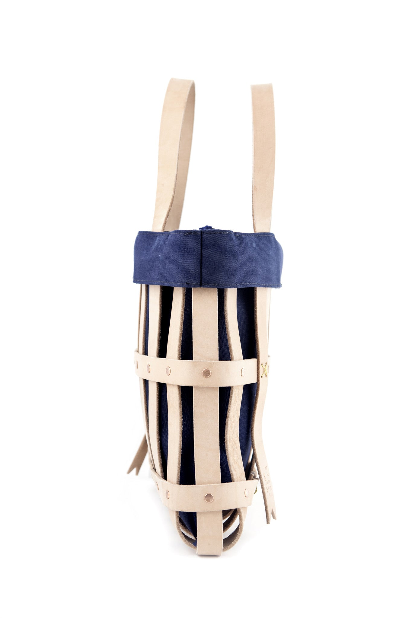 Leather Strap Tote Bag + Canvas Liner - buyAMT Shop