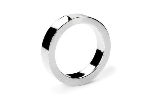 Band Silver Ring - Medium - Custom