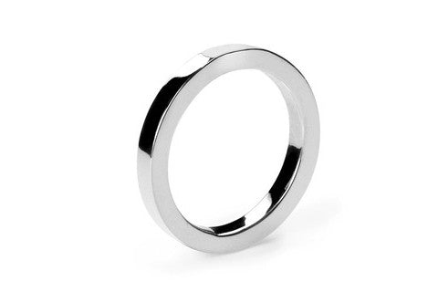 Band Silver Ring - Small - Custom