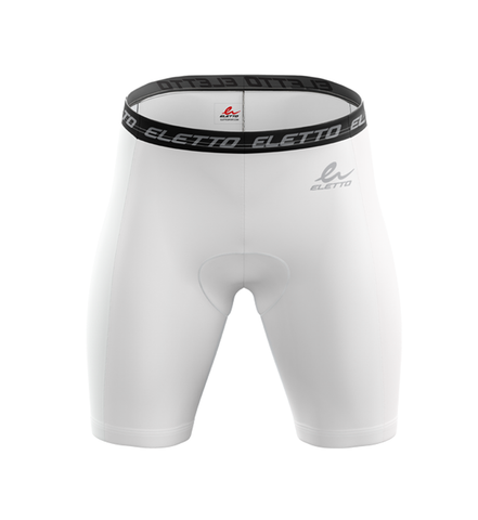 Short de Compression Element Gear Blanc