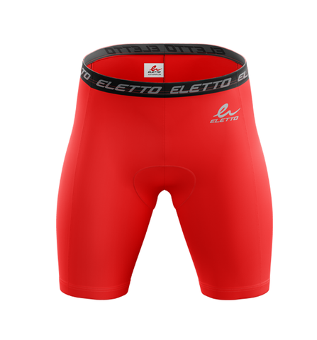 Short de Compression Element Gear Rouge