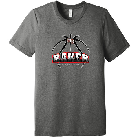 Baker Basketball Triblend Tee