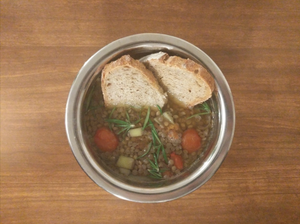 Lentil and Rosemary Soup