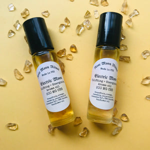 Electric Moon + Energizing & uplifting oil blend (CBD)