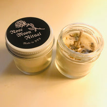 Rose Moon Ritual Jar Candles  (1. oz & 2. oz )