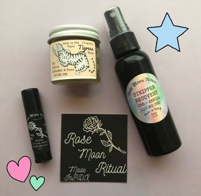 Stripper Recovery mini gift set