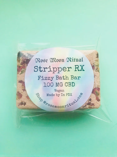 Stripper Rx Fizzy Bath Bar (CBD)