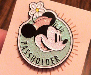 """Everyone's favorite Mrs. Mouse"" Pin"