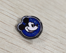 Load image into Gallery viewer, TPCharm - New Years Mouse - Glitter Nonpassholder- READY TO SHIP