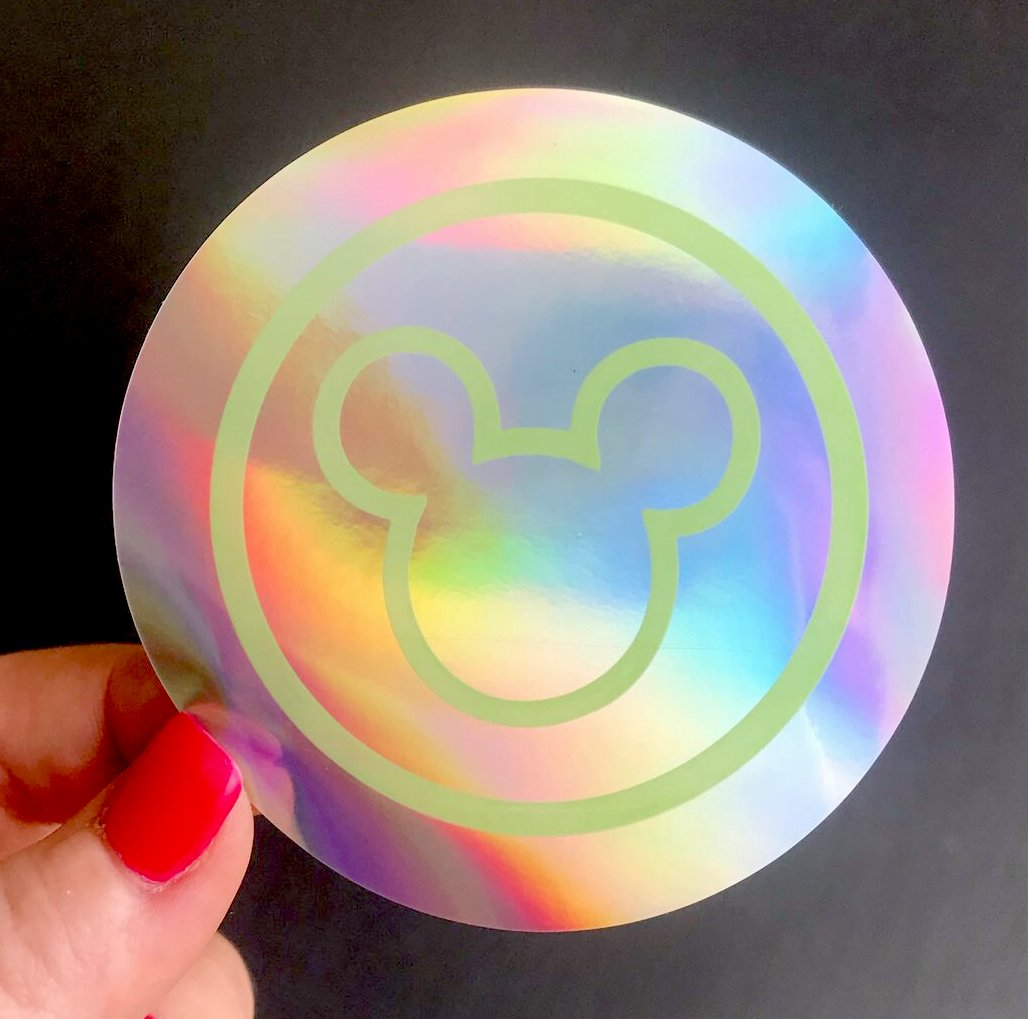 Sticker - Welcome to the Magic Holographic - READY TO SHIP