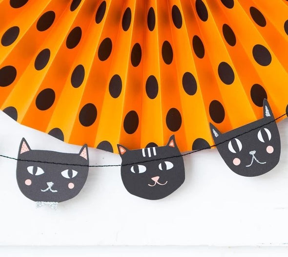 Black Cat Garland