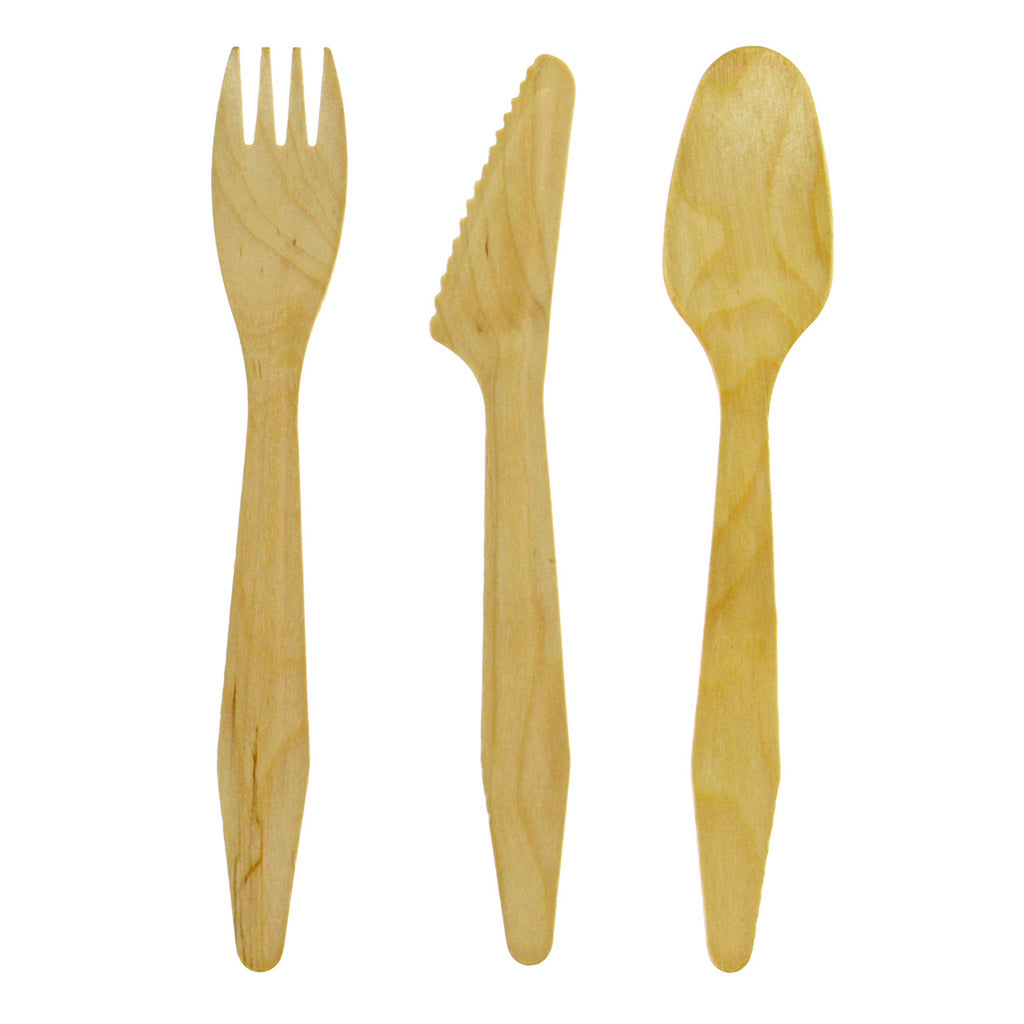 Fancy Birch Cutlery
