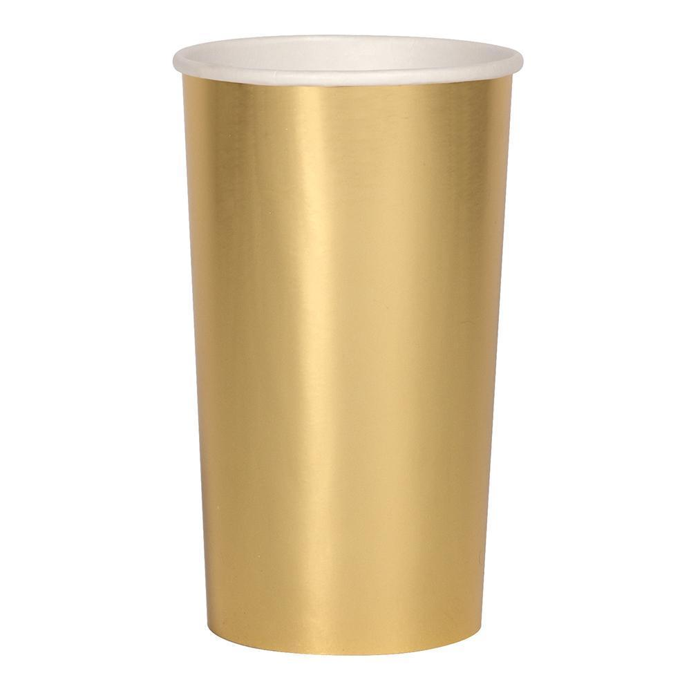 Gold Tall Cups