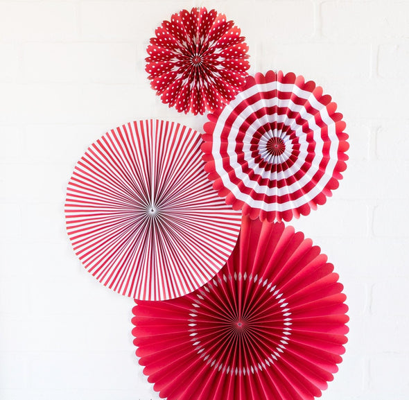 Red Pinwheels