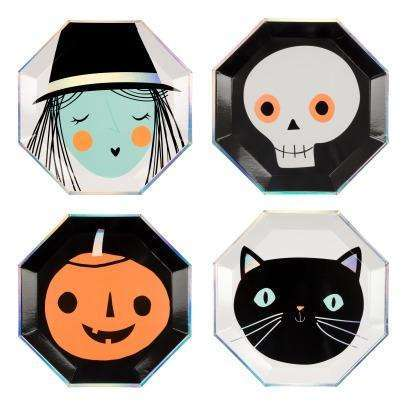 Halloween Character Plates - 10""