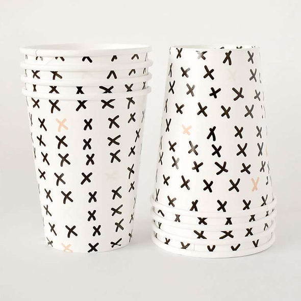 X Marks the Spot Cups