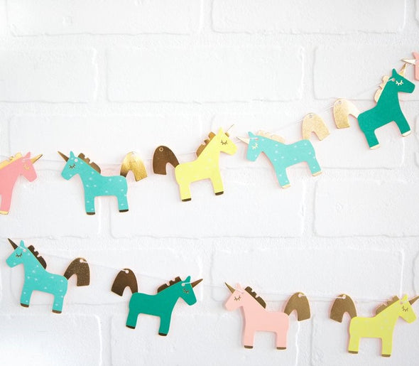 Mini Unicorn Garland