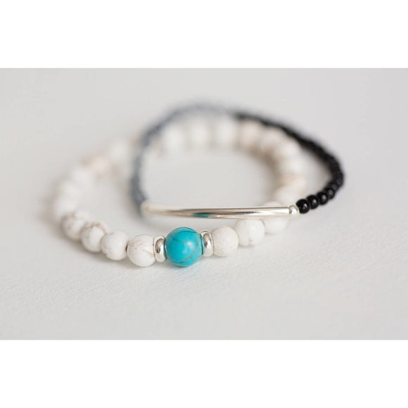 Gemstone bracelet - Savi Jewelry
