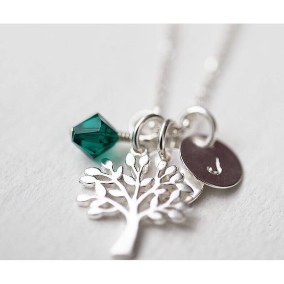 Personalized Tree Necklace - Savi Jewelry