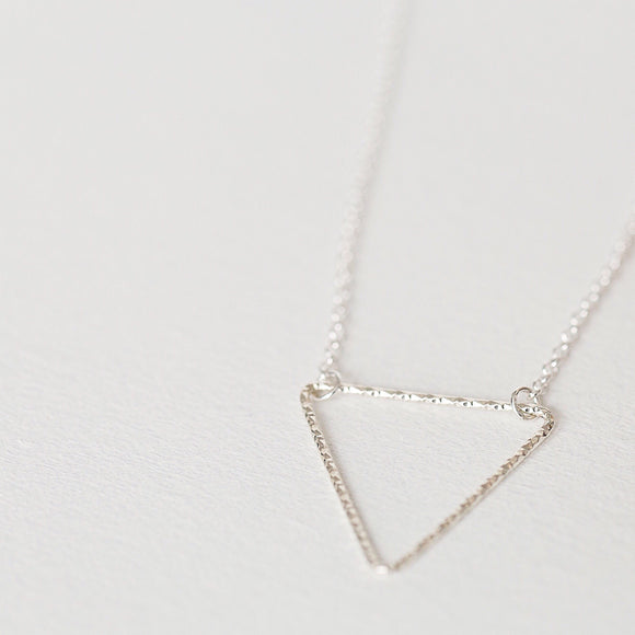 Triangle necklace - Savi Jewelry